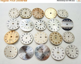 ON SALE Small Watch Faces - set of 20 - c11