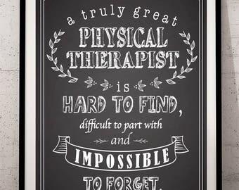 Speech Therapist Chalkboard Printable Speech Therapist Gift