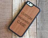 Custom iPhone 7 Plus Case, Rosewood iPhone 7 Plus Custom Case - FREE USA Shipping