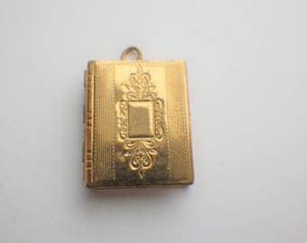 Vintage Book Locket