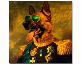 Custom Pet Portrait, royal Pet Portrait, Military uniform, regal pet portrait, Regal military, custom pet portraits, pet portrait, regal pet