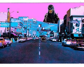 Godzilla neon