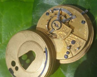 Vintage Pocket Watch Movement #4