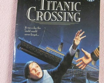 On Sale Titanic Crossing Barbara Williams Titanic Book Scholastic
