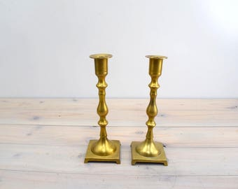 Brass CandleStick Holders