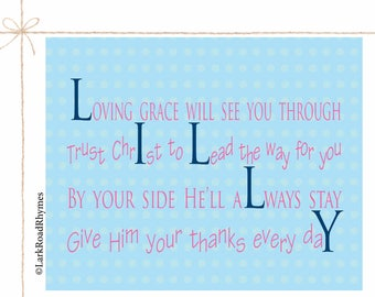 Christian baby gift etsy dedication gift baptism gift for baby girl baby blessing godchild gifts christian baby gift religious decor negle Gallery