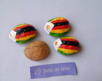 Flag Magnet Zimbabwe