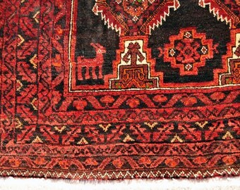 Baluchi Goat Rug -- 7 ft. 6 in. by 4 ft. 1 in.