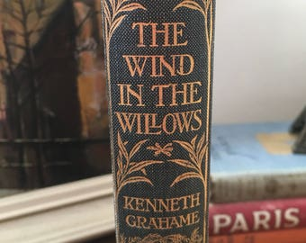 The Wind in the Willows Kenneth Grahame 1926 Antiquarian Copy