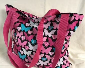 Handmade Breast Cancer Awareness Tote