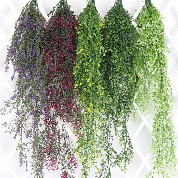 artificial hanging plants 110cm hanging basket vine 2 bunches. Black Bedroom Furniture Sets. Home Design Ideas