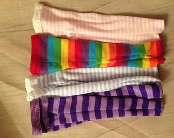 """Choice of STRIPED Tights for 14"""" American Girl Wellie Wishers doll"""