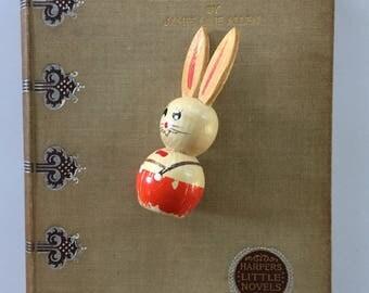 A Kentucky Cardinal, James Lane Allen, Harper's Little Novel, Tiny 1894 Book, Charming Cover, Gift Display Collection, Victorian Era