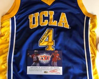 02bddf777 ... Los Angeles Lakers 33 Kareem Abdul-Jabbar Yellow Soul Swingman Jersey Kareem  Abdul Jabbar AUTOGRAPHED UCLA Jersey wCOA!