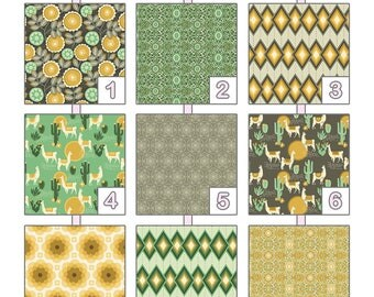 Changing Pad Cover ... { Florabelle } Joel Dewberry - Yellow Palette