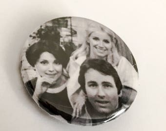 Three's Company - John Ritter -  Pinback Button Badge 1.25 inch Flair