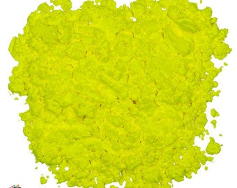 Yellow Fluorescent Powder - UV Reactive
