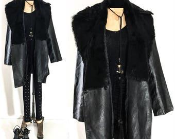 Plus size fur coat | Etsy