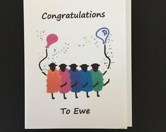 Congratulations Card / Congratulations to Ewe