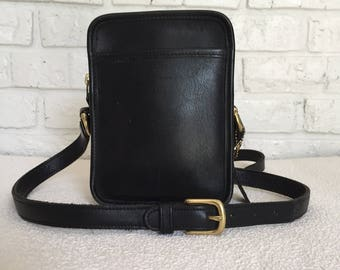Vintage Black Coach Bag