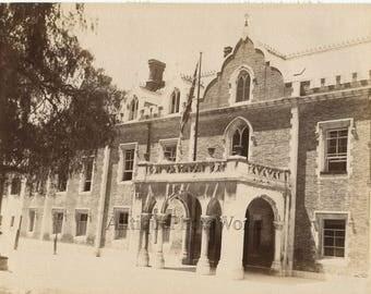 Governors House Gibraltar antique albumen photo