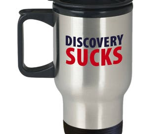 Discovery Sucks Funny Lawyer Attorney Gift Travel Mug Coffee Hilarious