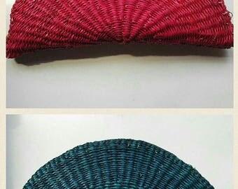 Flash Sale Handwoven Clam Clutch