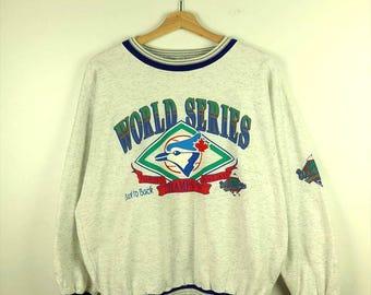 Damaged VintageToronto Blue Jays World Series Sweatshirt/MLB*