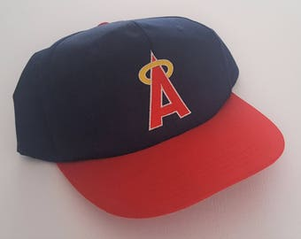Vintage Los Angeles Angels Snapback Hat MLB VTG