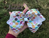 7 inch Large Donut Hairbow