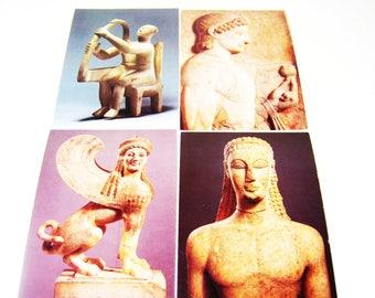 LOT 4 Vintage Metropolitan Museum of Art Photo Postcards - not posted