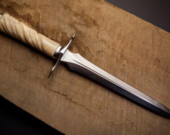 Oosik Dagger - handmade classical quillon dagger