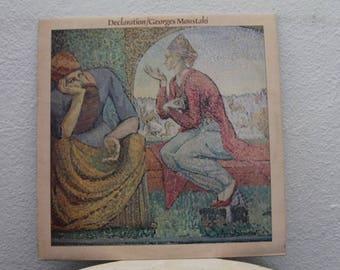 "Georges Moustaki - ""Déclaration"" vinyl record, UK Import"