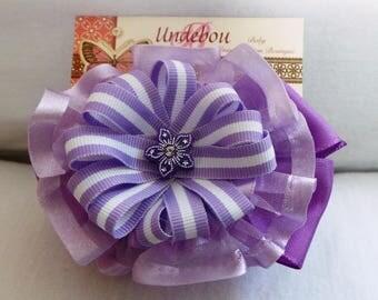 Purple hard headband, Violet headband