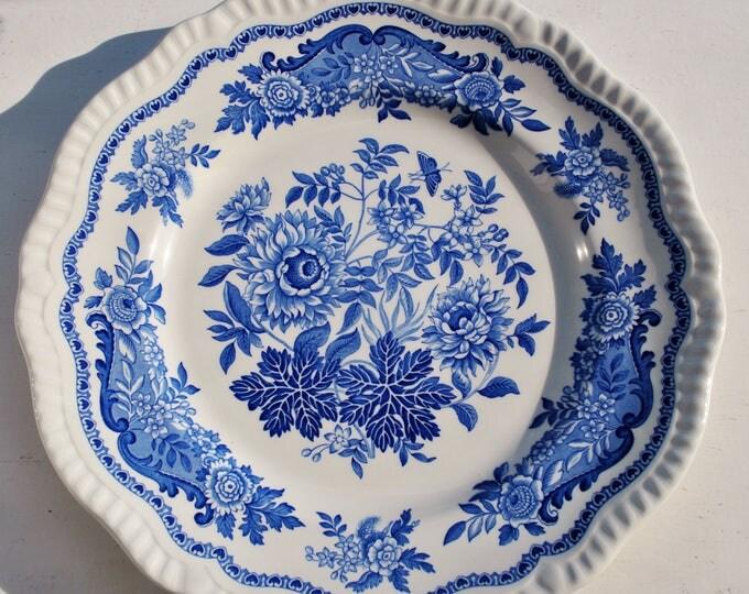 Spode England Blue Room Collection Jasmine Regency Series