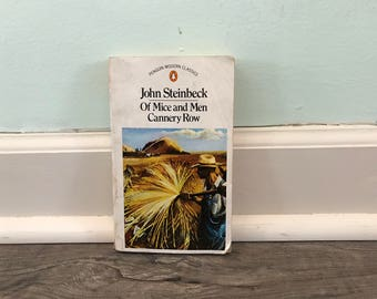 "John Steinbeck ""Of Mice and Men and Cannery Row"" paperback novel"