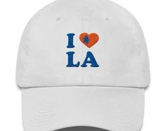 I love Los Angeles Palm Tree White Hat