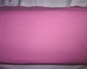 Flannel Fabric, Solid Deep Pink, 100% Cotton, By the Yard...Quilts, Rag Quilts, Clothing, Crafts