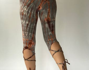 TD0141 Tie Dyed Yoga Pants and Leggings,perfect for yoga super comfort, tiedye