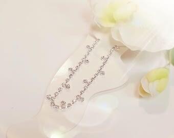 Wedding Crystal Ankle Bracelet