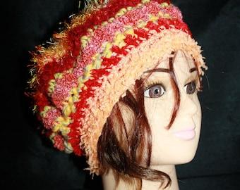 very warm fancy hat, multicolored 4