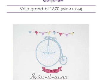 Bike large bi 1870 - cross stitch chart