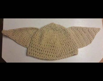 Harry potter INSPIRED, house elf, dobby, kreacher, crocheted, halloween costume, beanie, hat, (All sizes available)