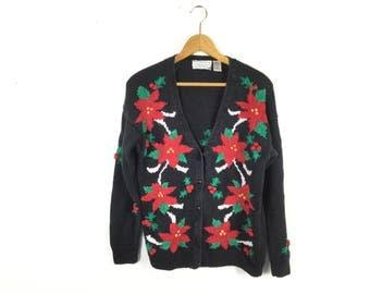 Christmas sweater ugly Christmas sweater tacky Christmas sweater large sweater women shoes mens