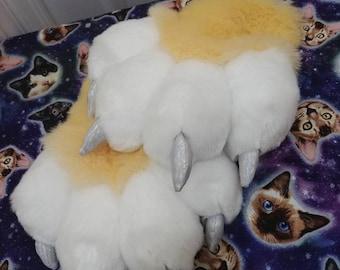 Custom Feral Puffy Paws