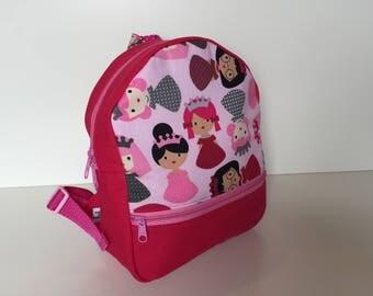 Backpack (M) 'Little Queens'