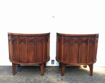 "Pair Kent Coffey ""Perspecta"" Nightstands"
