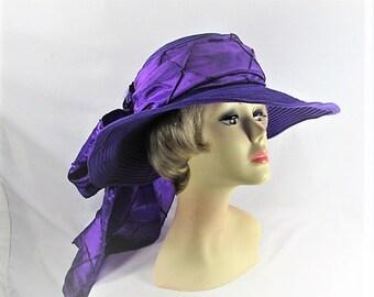 Purple Panache Ladies Hat (CC130P)