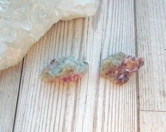 Small Pink Tourmaline In Quartz Pieces - Natural Raw Rough Gemstone Specimen - Rubellite Tourmaline