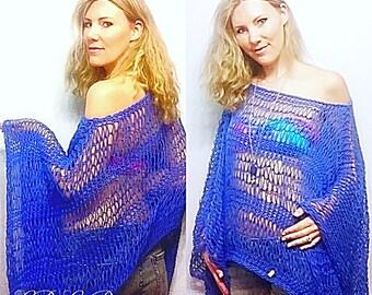 PATTERN: Beachside Breeze Sweater Knitting Pattern, Beginner Knitting Pattern, Boho Beach Sweater Directions, Loose Knit Top